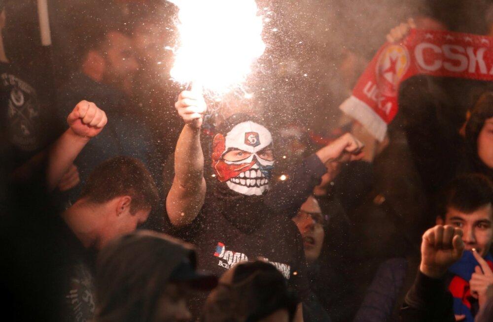 CSKA fännid