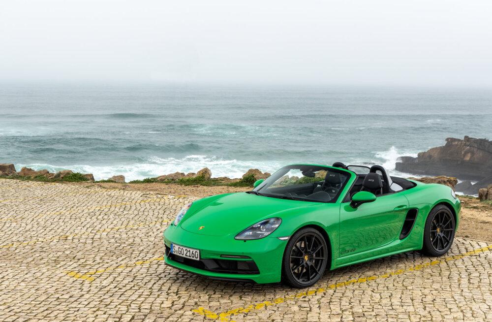 Porsche 718 GTS 4,0 ja Macan GTS - autod, mis ajavad suu naerule