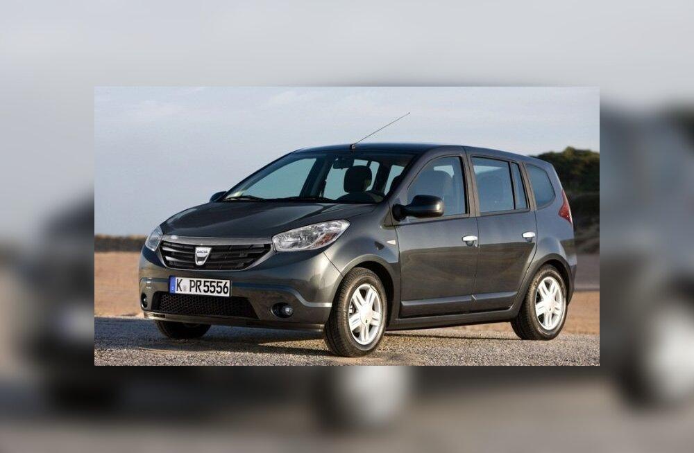 """Dacia Lodgy esimene ametlik pilt. Või on see siiski vaid """"fotošopatud"""" kaader Sanderost?"""