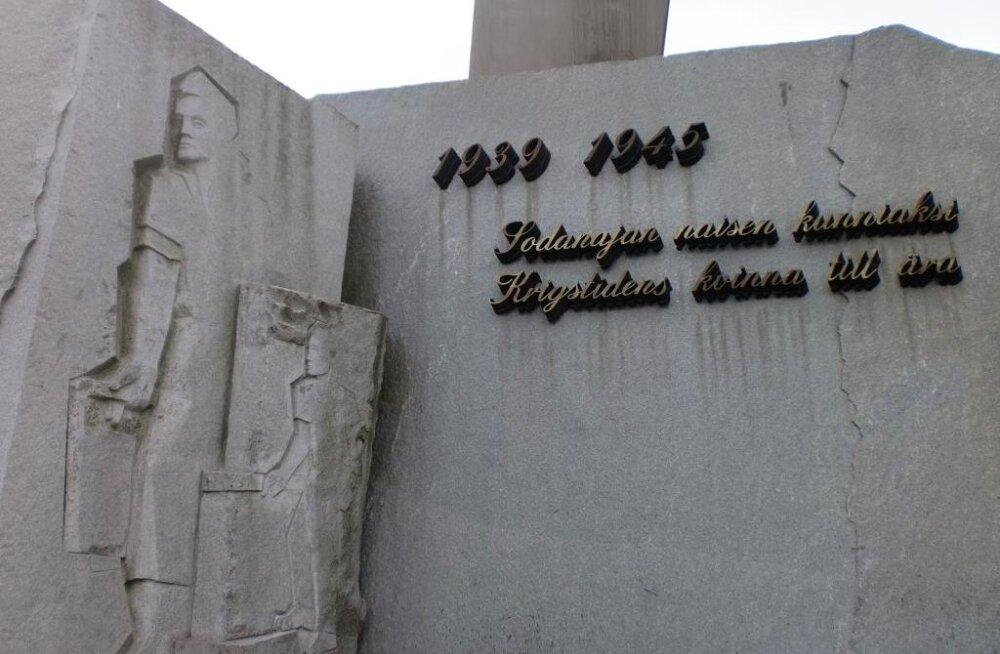 Mees jäi kinni Sõjaaja naise monumendi külge, vajas päästeameti abi
