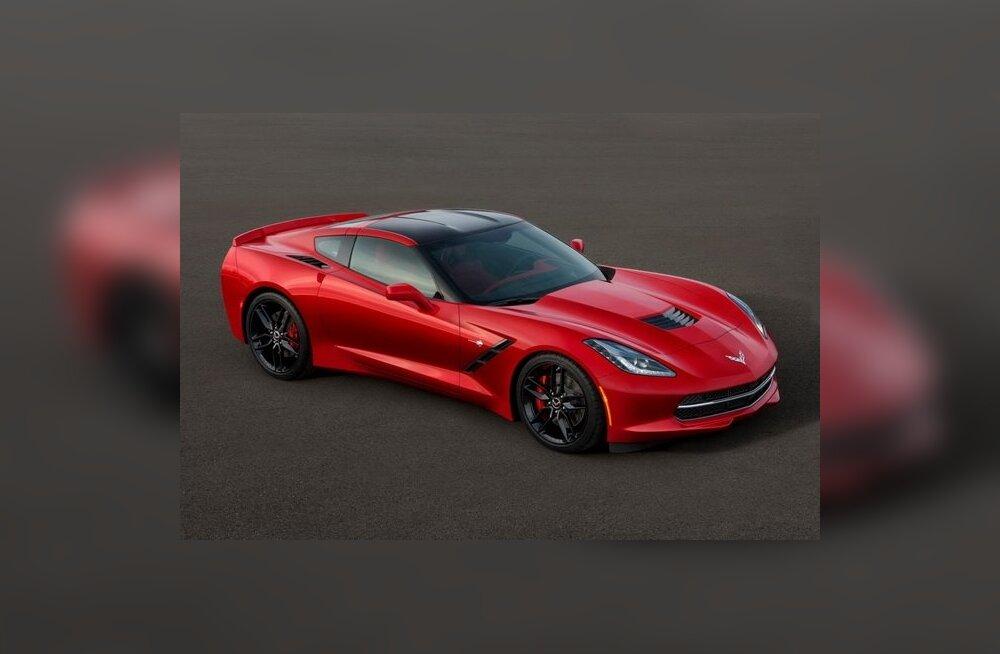 Avaldati seitsmenda põlvkonna Chevrolet Corvette