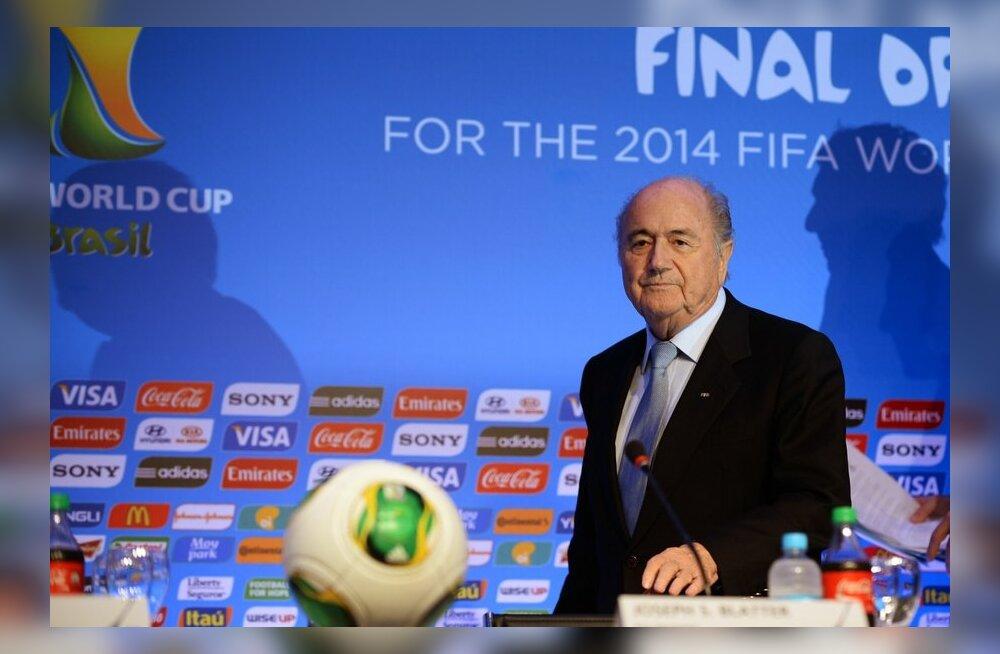 Sepp Blatter ja FIFA loosimine
