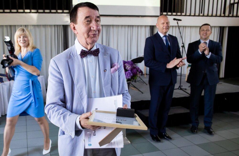 Tallinn tänas Lauri Leesit elutööpreemiaga
