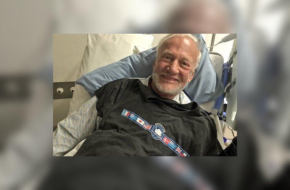 Buzz Aldrin vajas evakueerimist - mitte Kuu pealt, vaid Antarktikast
