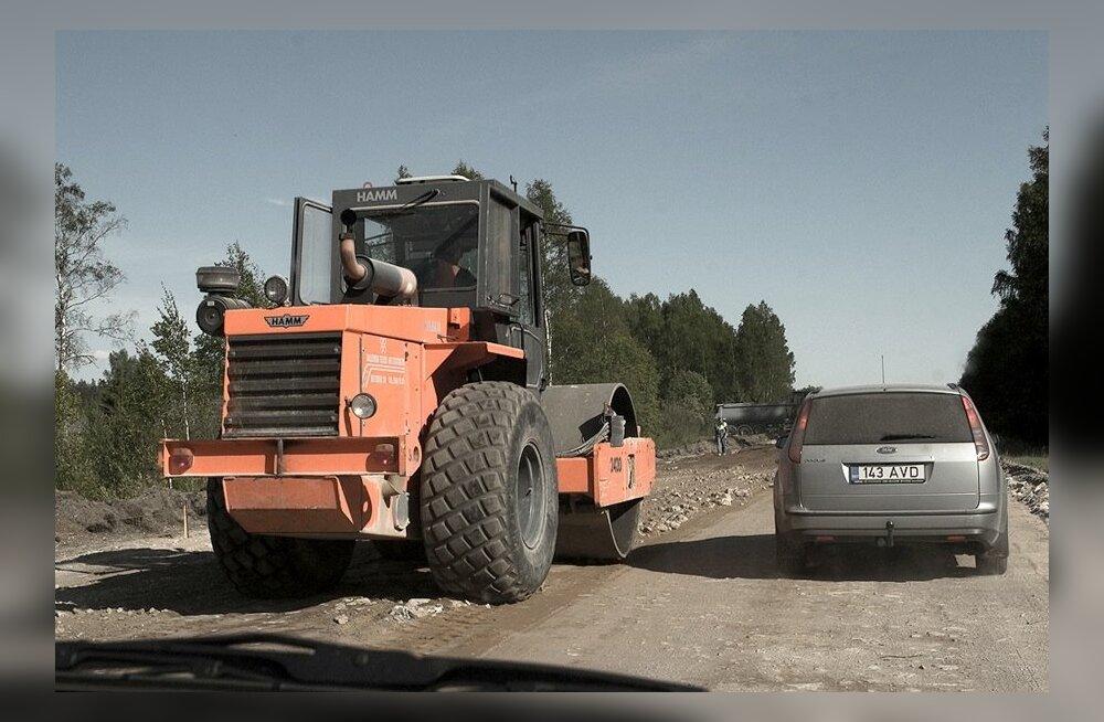Täna on Eestis liikluspiiranguid neljas paigas
