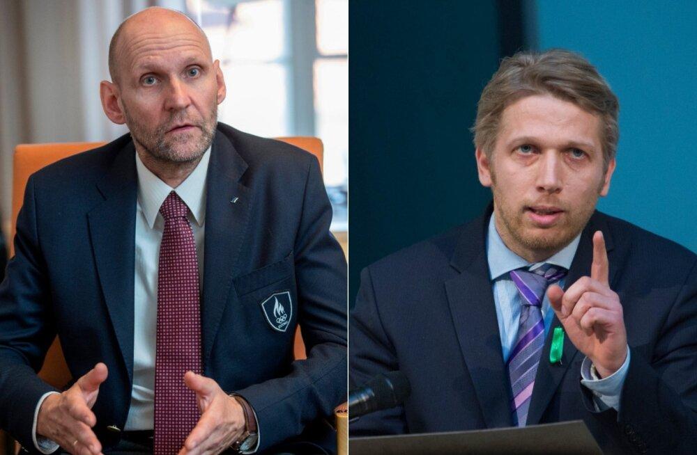 Helir-Valdor Seeder: IRLil ei ole sobingut Keskerakonnaga, Jürgen Ligil katus sõidab