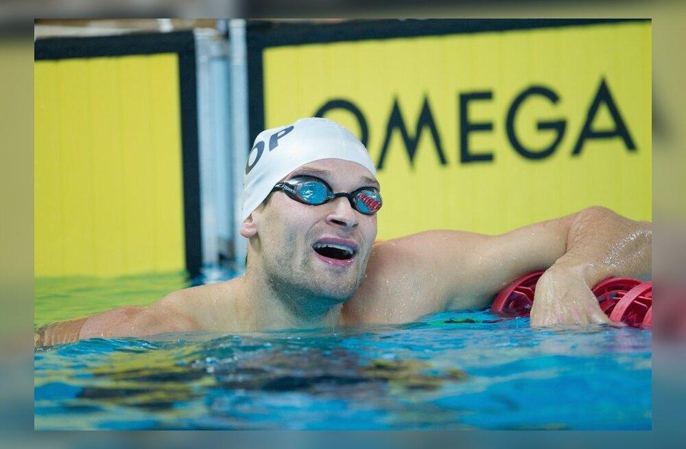 Eesti teatemeeskond ujumise EMil uue rahvusrekordiga viies