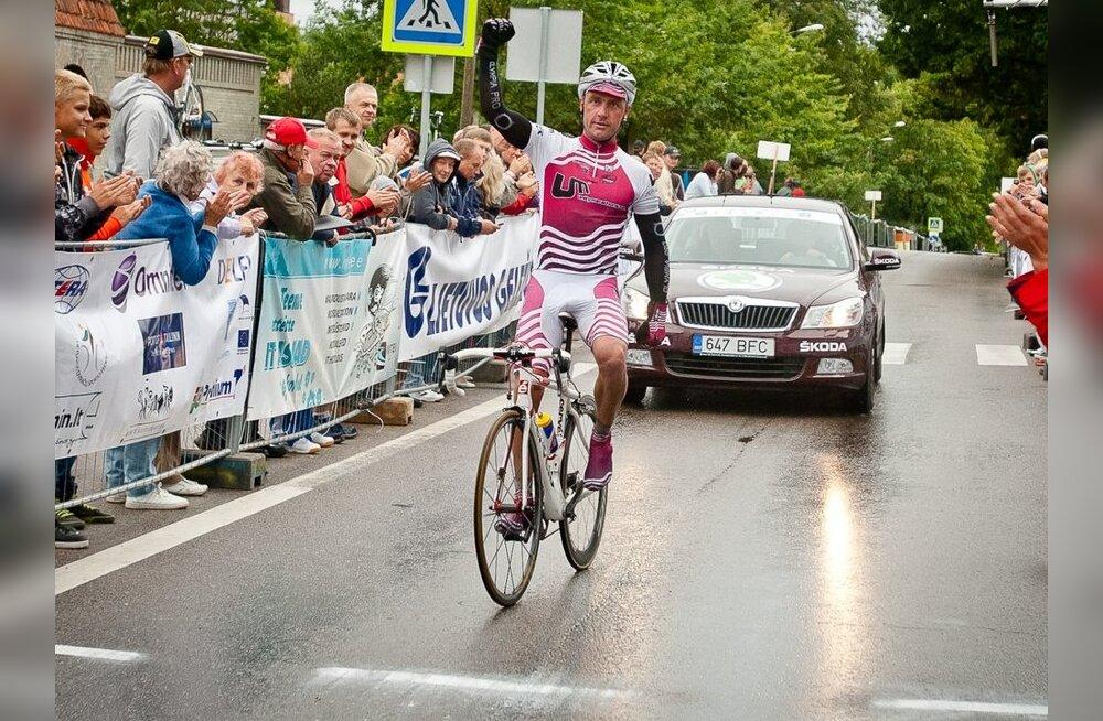 Erki Pütsep võitis Balti velotuuri, jalgratas