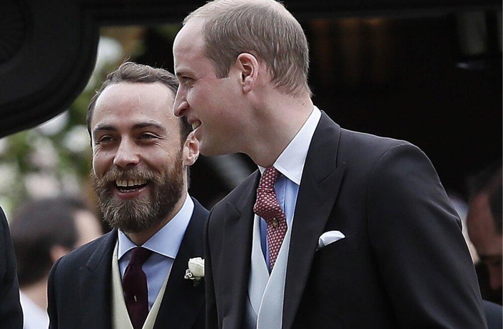 Prints William vestleb pruudi noorema venna, James Middletoniga