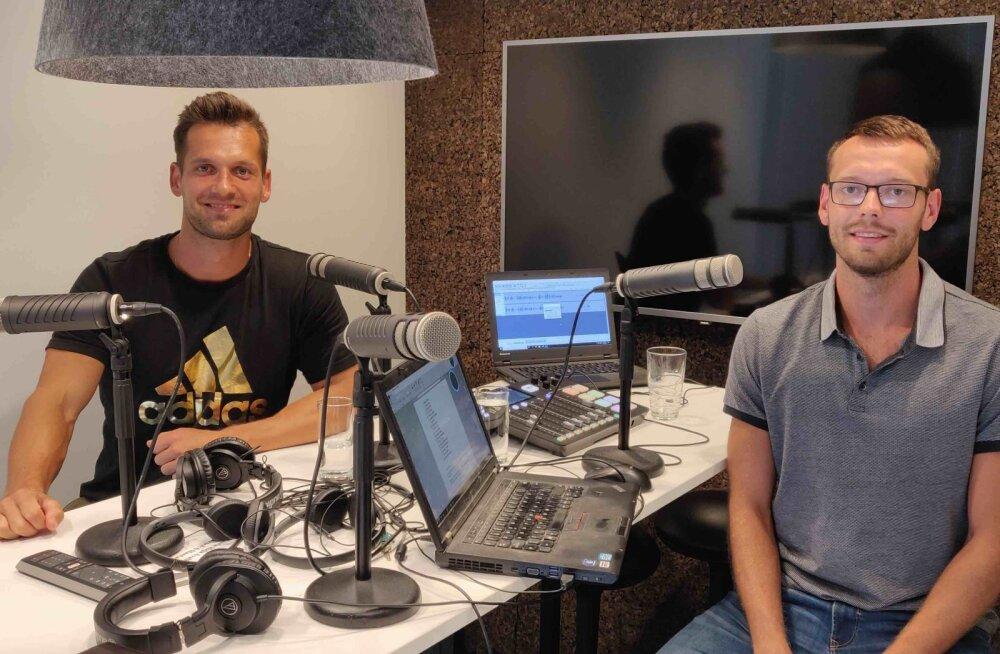 """Podcast """"Staadionijutud""""   Magnus Kirt: jõusaalis olen kindlasti üks nõrgemaid odaviskajaid"""