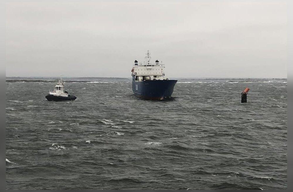 На направлявшемся в Палдиски судне Tallink внезапно отключилось электричество