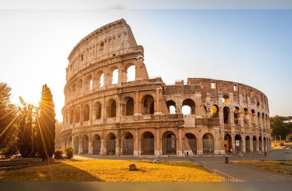 REISIIKOON: võimas Colosseum Roomas