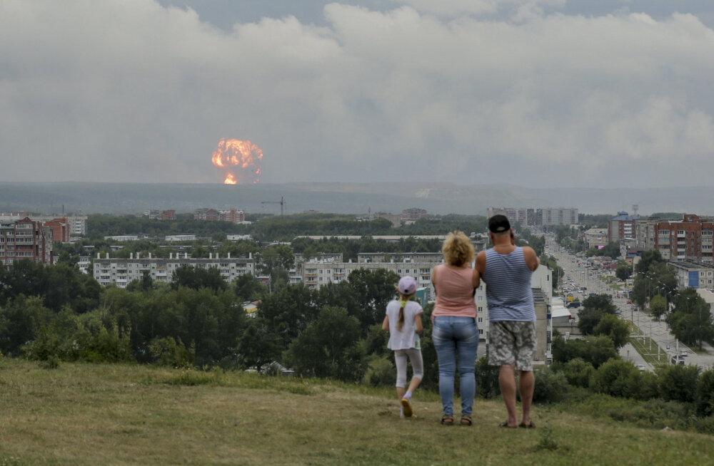 Arhangelskis süttis järjekordne Vene sõjaline objekt, hukkus kaks inimest