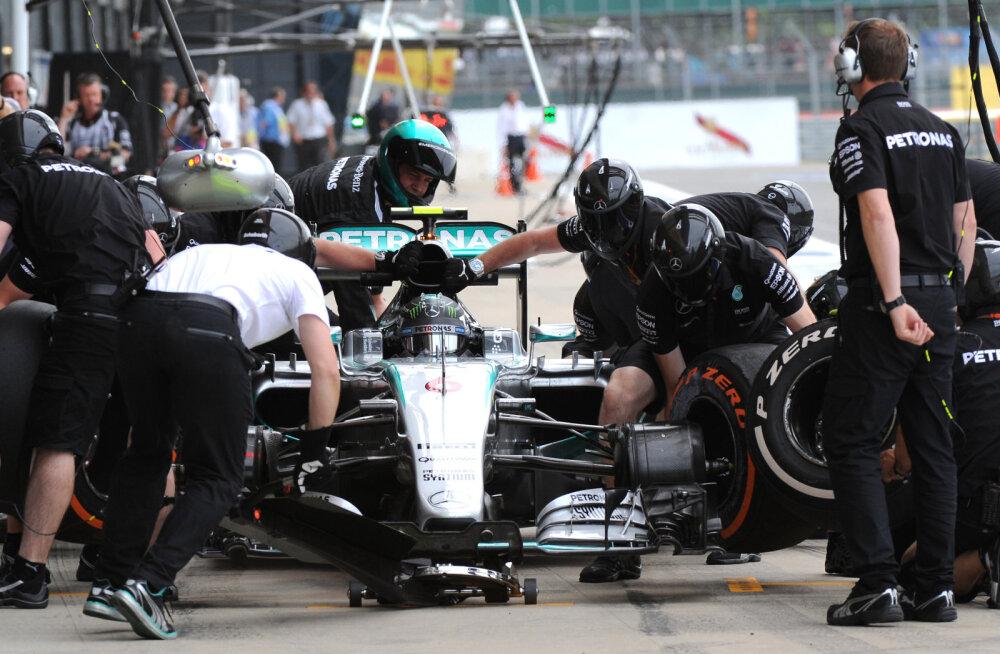 Mercedes üritas Williamsile boksipeatusega tünga teha