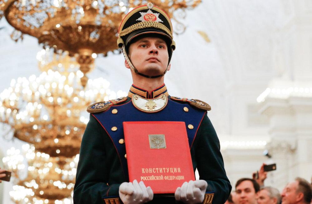 Putin moodustas Venemaa põhiseaduse muudatuste ettevalmistamise töögrupi