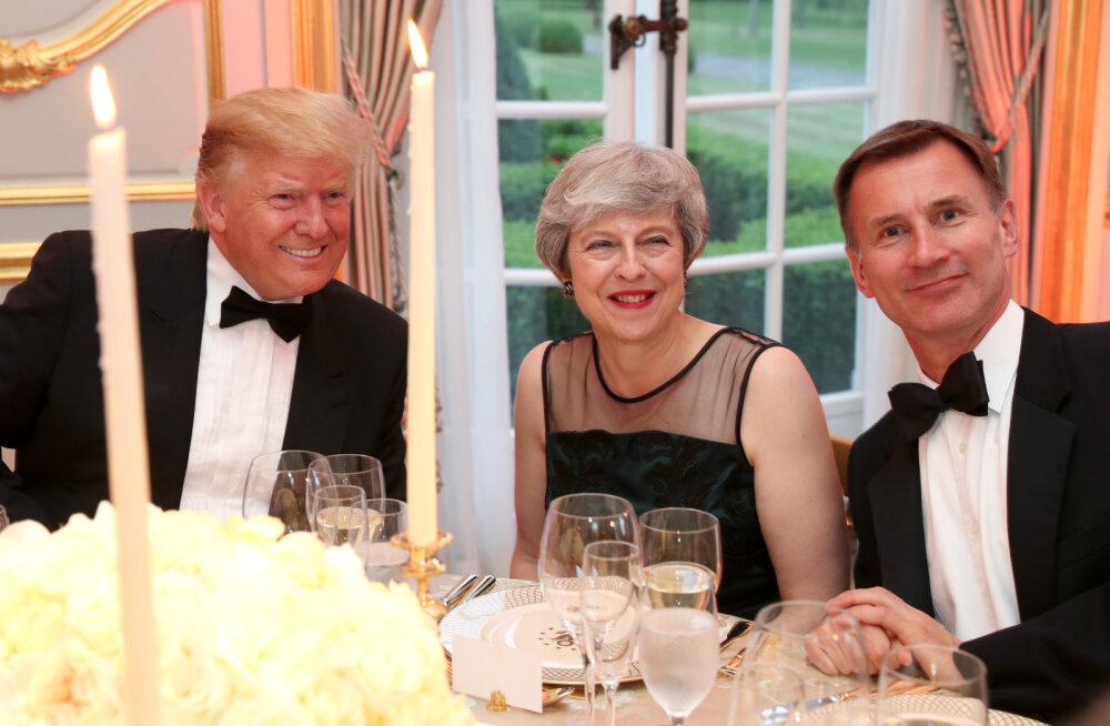 Briti välisministri sõnul on Trump lugupidamatu peaminister May ja Ühendkuningriigi vastu