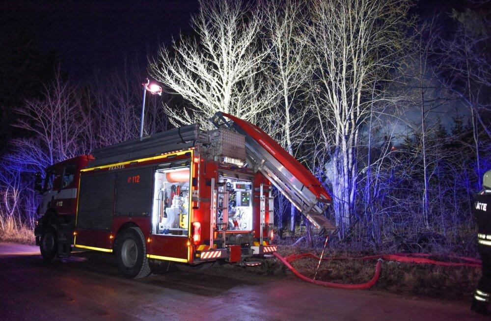 Viljandimaal põles elumaja