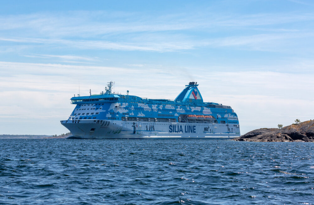 Ehmatus Läänemerel: Silja Line'i laev tegi kokkupõrke vältimiseks järsu manöövri