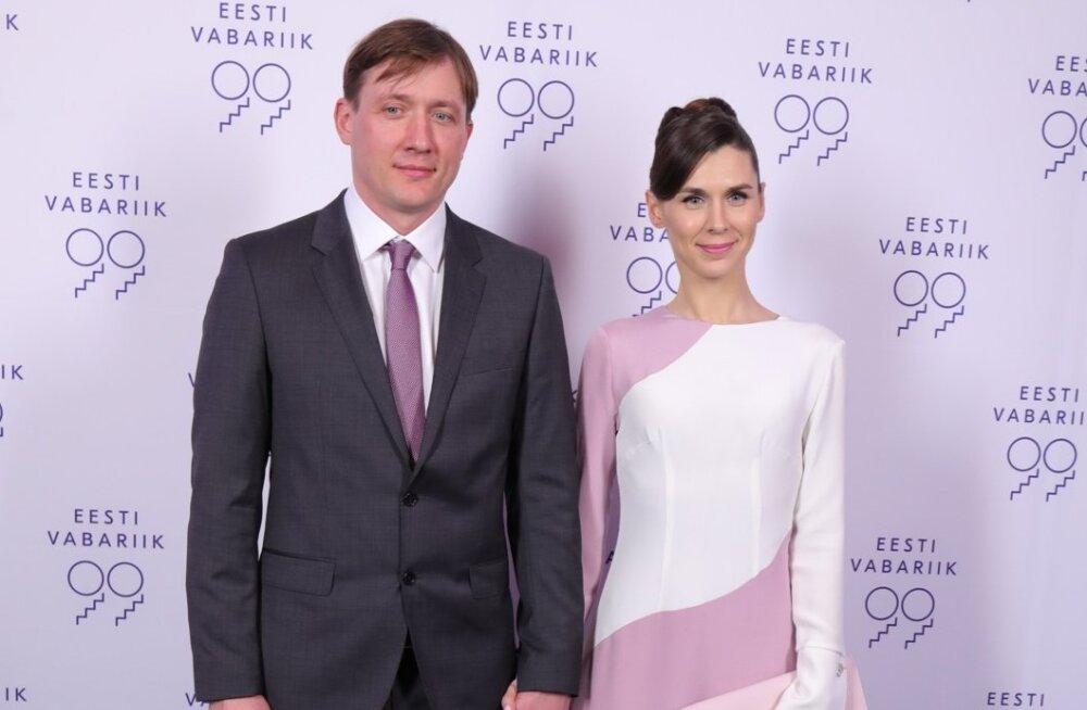 Irina Embrich koos abikaasaga