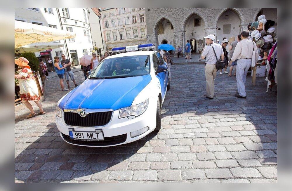 Politsei: Tallinna tänaval tapmise ohvriks langeda on väga vähetõenäoline