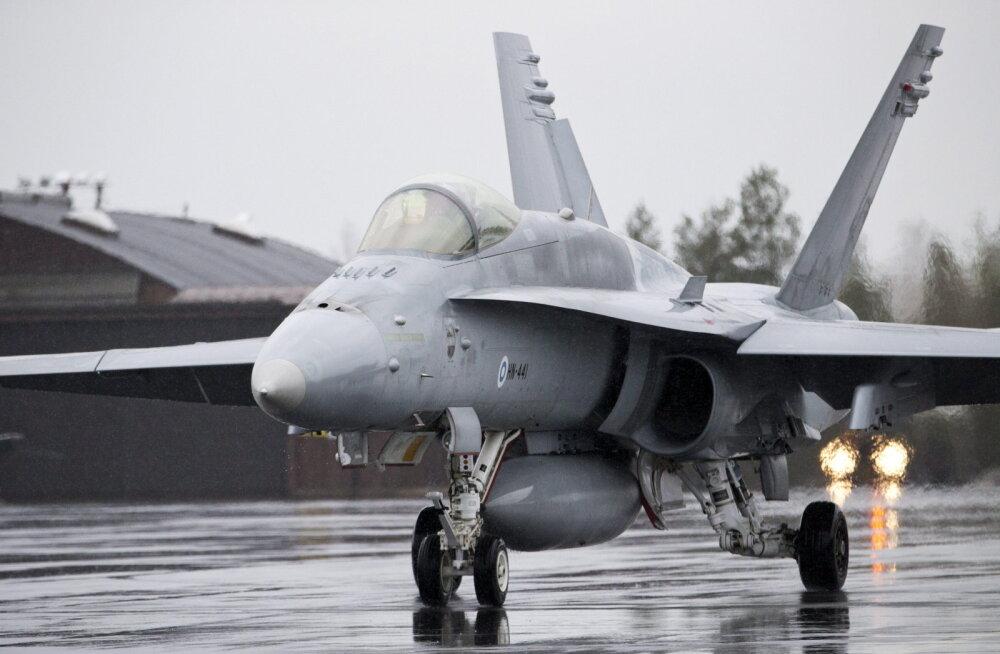 Helsingi kohal kuuldi hävitajaid – õhujõud teatasid Soome territoriaalse puutumatuse kaitsmisest