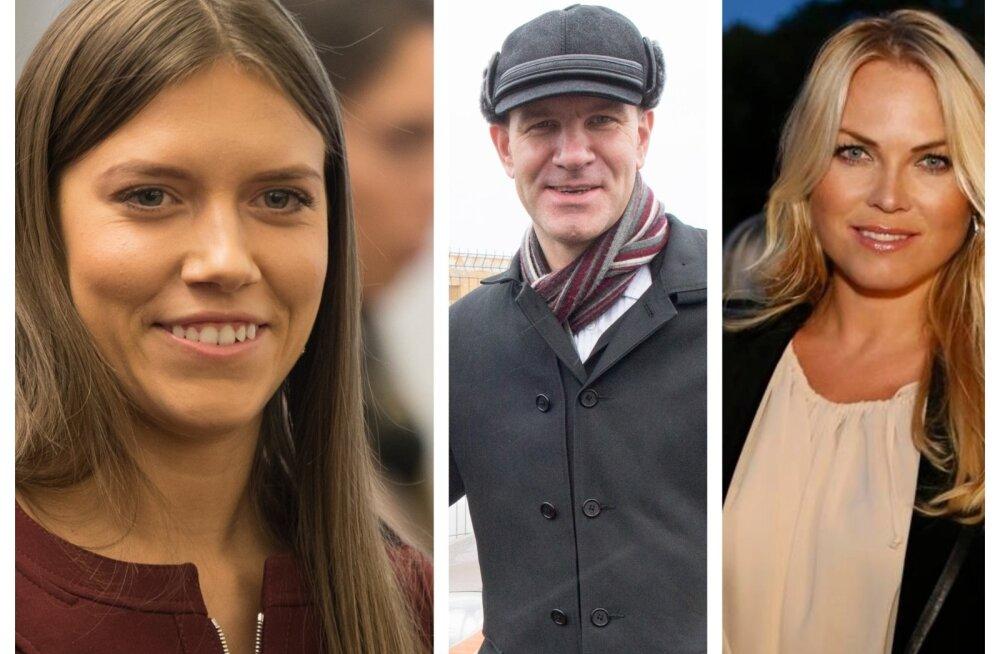 Vasakult: Anastassia Kovalenko, Argo Luude ja Kristiina Heinmets-Aigro pidid hoolimata suurtest kampaaniakuludest riigikogust välja jääma.