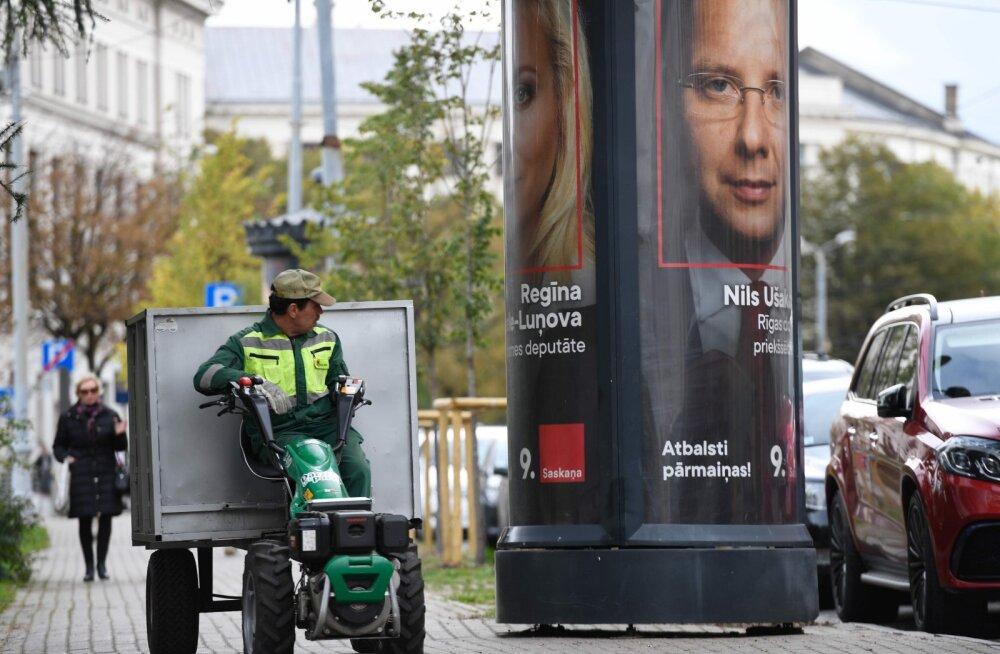 Läti valib parlamenti