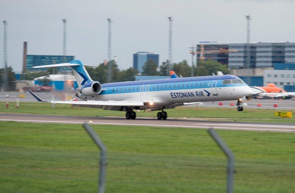 Estonian Air hädamaandumine  2014
