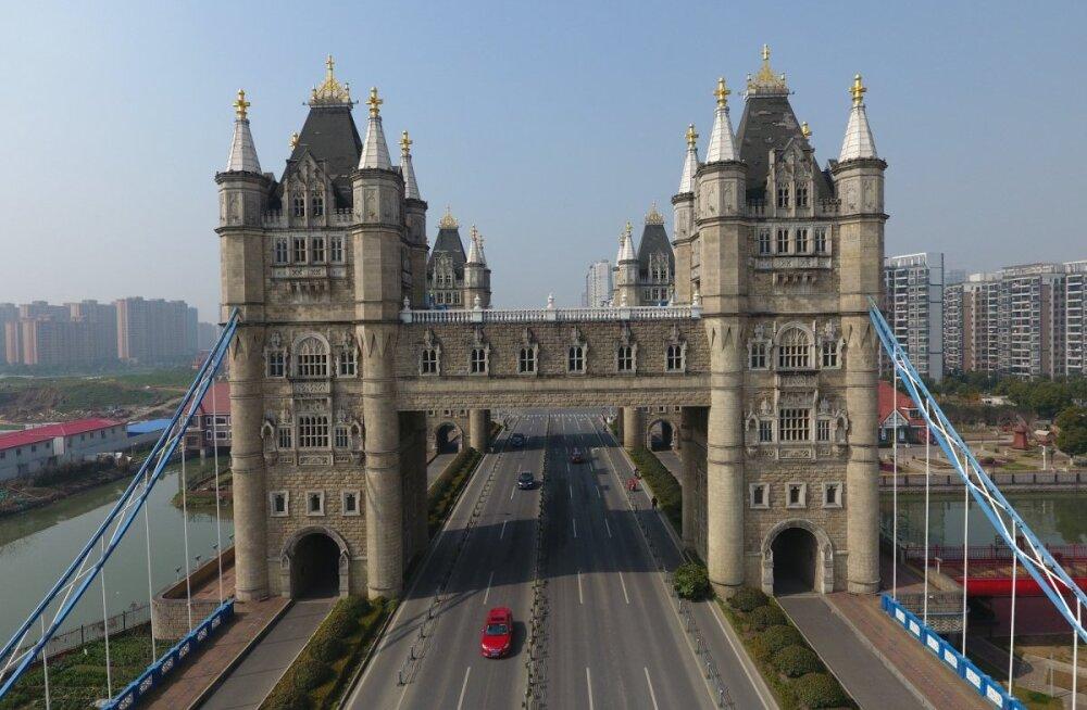 FOTOD: Nüüd kopeeritakse Hiinas lisaks ketsidele ka maailmakuulsaid arhitektuurimälestisi