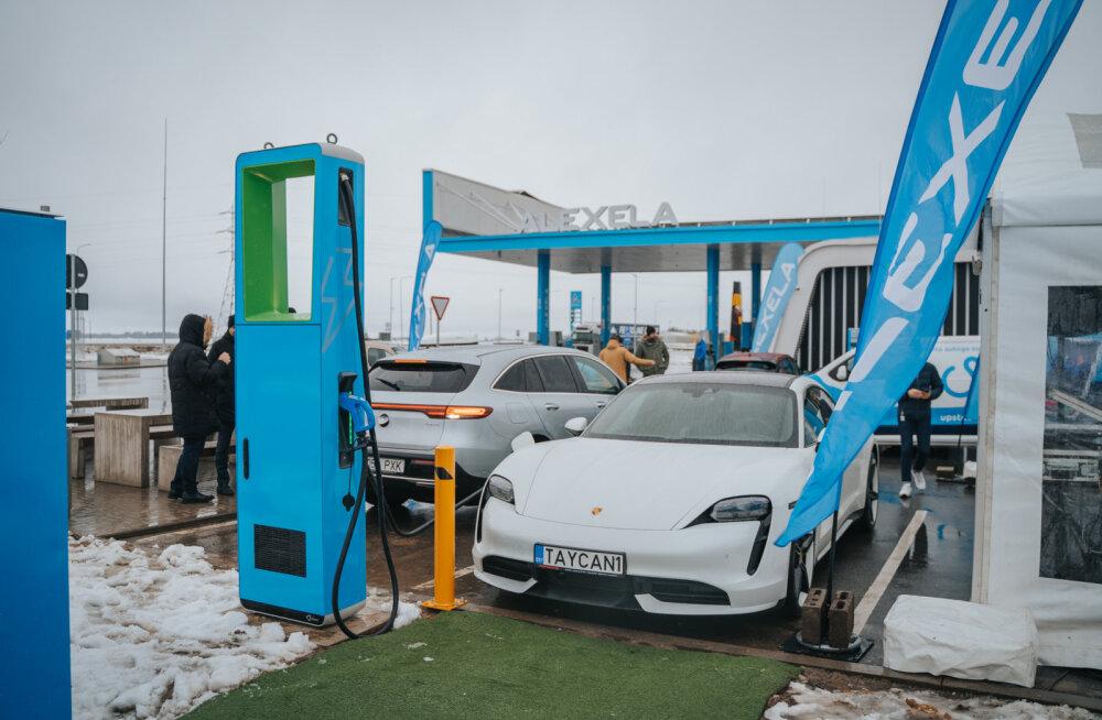 FOTOD | See on Eesti esimene ülikiire elektriautode laadimispunkt