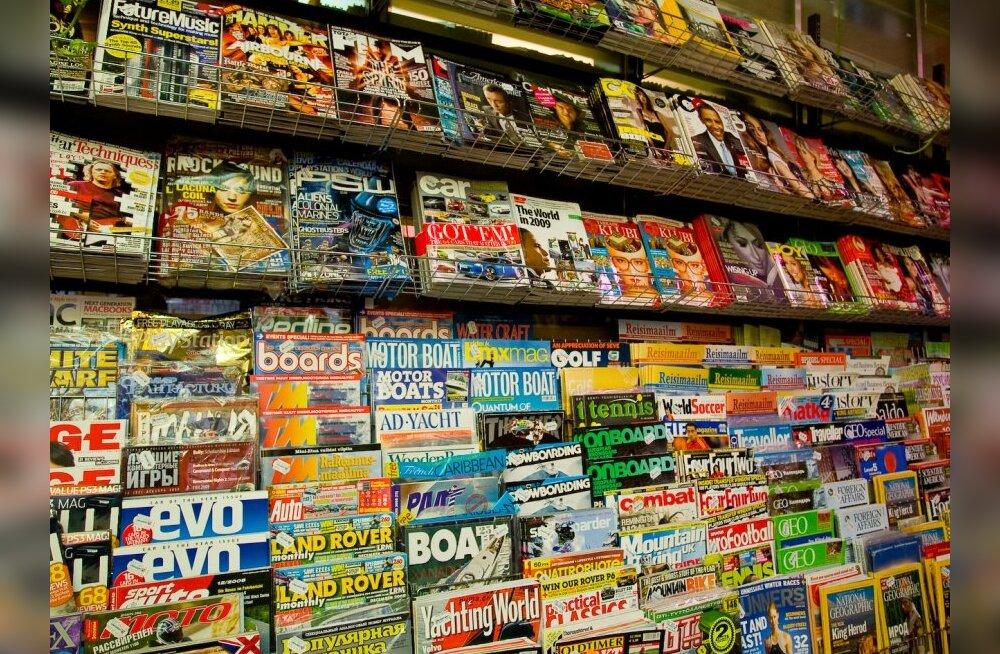 Ajakirju tellitakse vähem