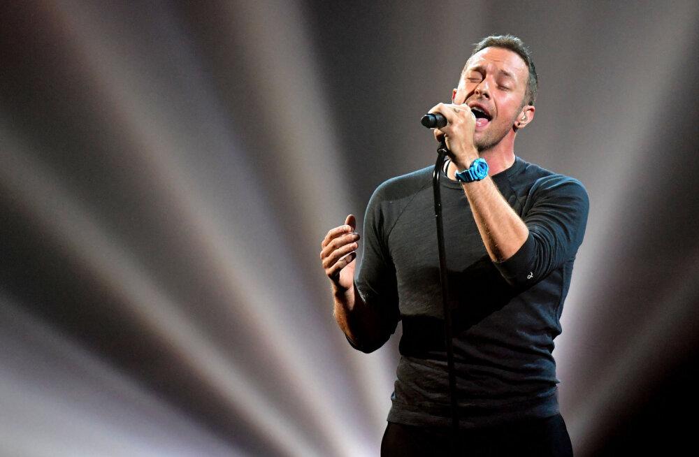 Coldplay lõpetas keskkonna päästmiseks tuuritamise