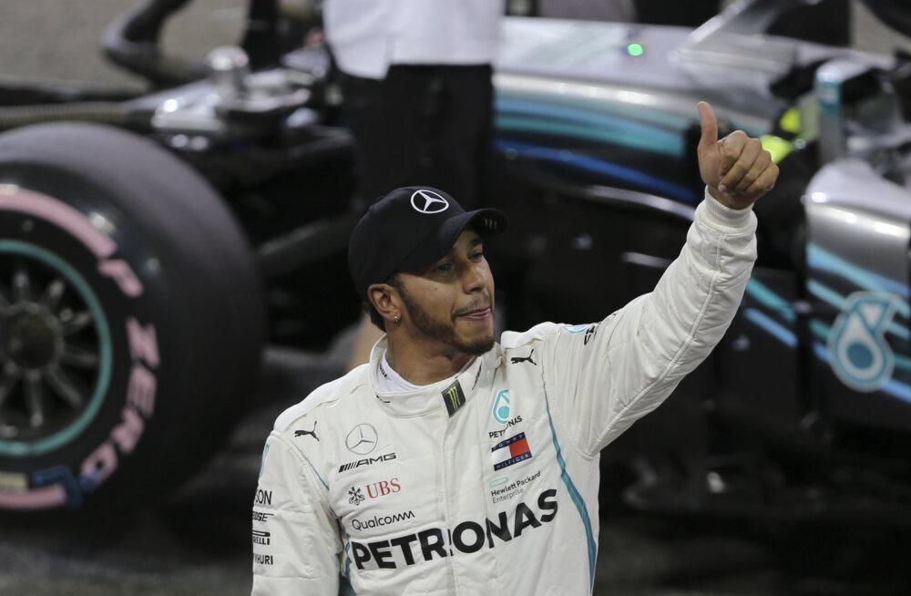 Maailmameister Hamilton alustab esikohalt ka hooaja viimasel etapil