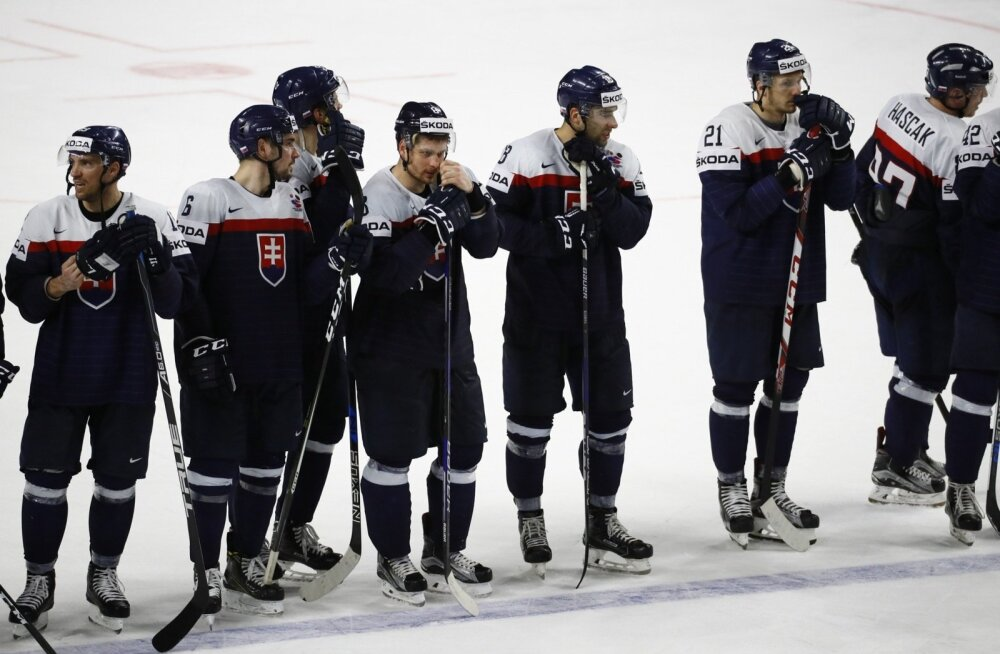Slovakkia hokikoondise mängumehed on ise ka nõutud