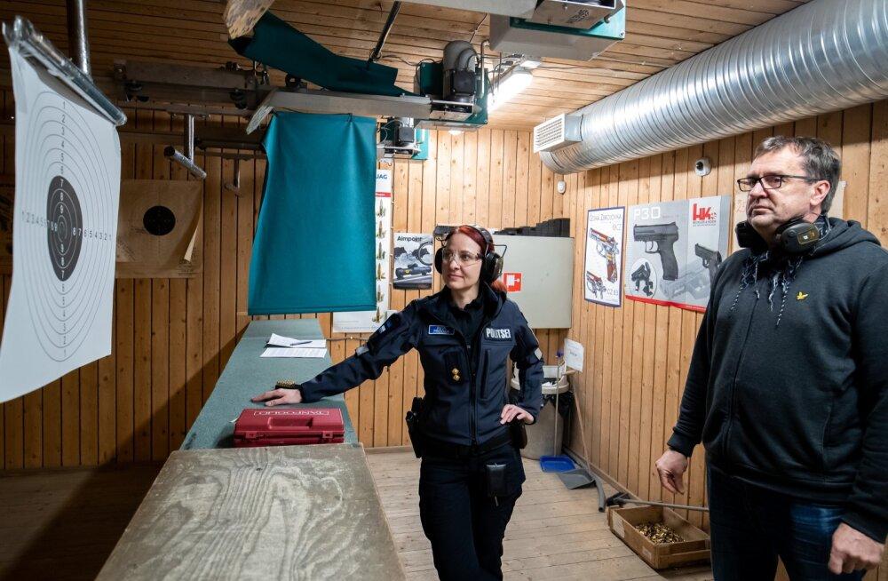 ГРАФИК | Сколько в Эстонии обладателей разрешения на оружие?
