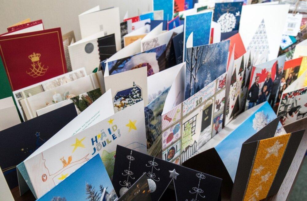 Presidendile saadetud jõulukaardid