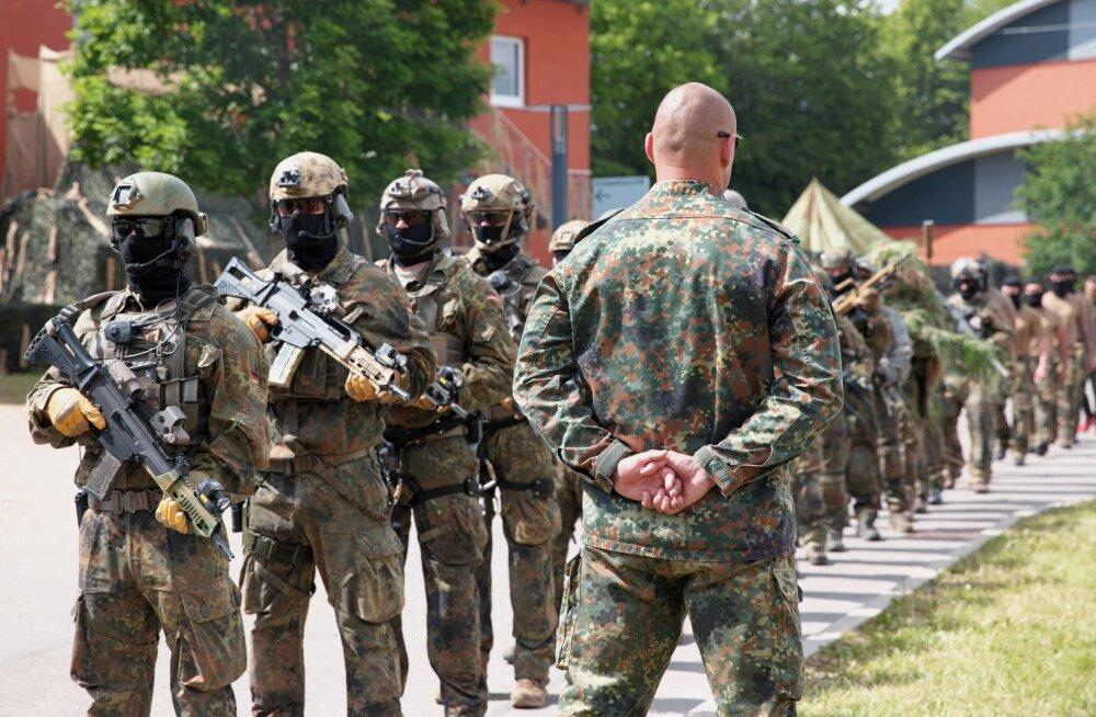 Saksamaal läheb osaliselt laialisaatmisele paremäärmusluses süüdistatav sõjaväe eliitüksus