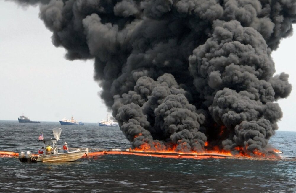 PB naftareostus Mehhiko lahes.