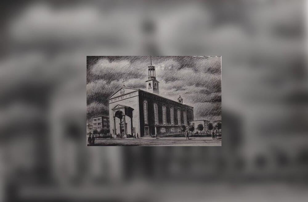 Jaak Juskega kadunud Eestit avastamas: lugu Tallinna Pauluse kirikust ja selle asemele kerkinud hotellist