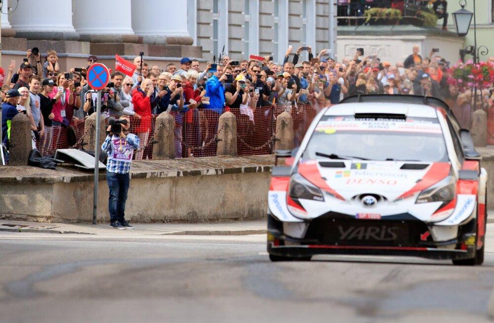 Rally Estonia 2019 SS15 ja poodium
