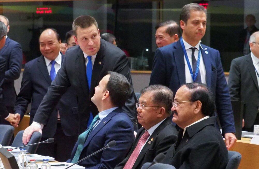 Ратас: даже если кажется, что нас разделяют большие дистанции, все равно Европа и Азия являются соседями
