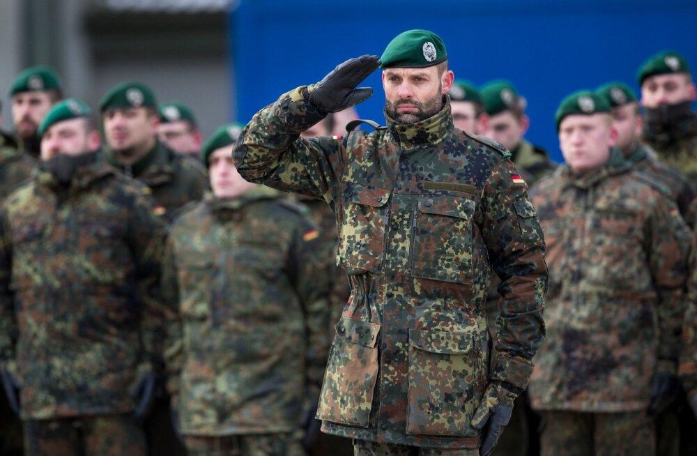Ajaleht: NATO kiirreageerimisjõududesse kuuluvatel Saksa sõduritel puuduvad talveriided ja telgid