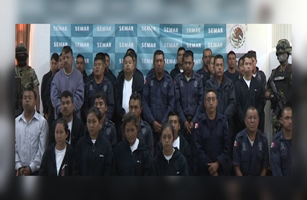 Mehhiko merevägi vahistas 35 narkoäriga seotud politseiametnikku