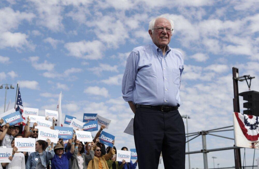 Venemaa püüab sekkuda USA demokraatide eelvalimistesse, toetades Sandersit