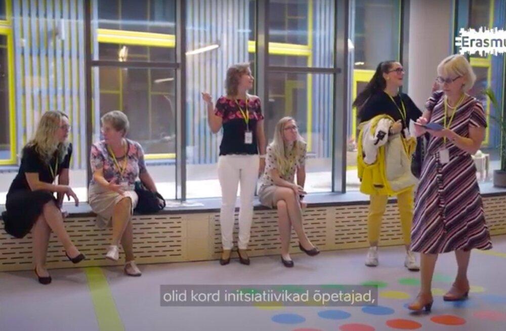 VIDEO | Paide õpetajad käisid töövarjudeks Berliini koolis: projekt mõjus hästi kollektiivile ja koostegemisele