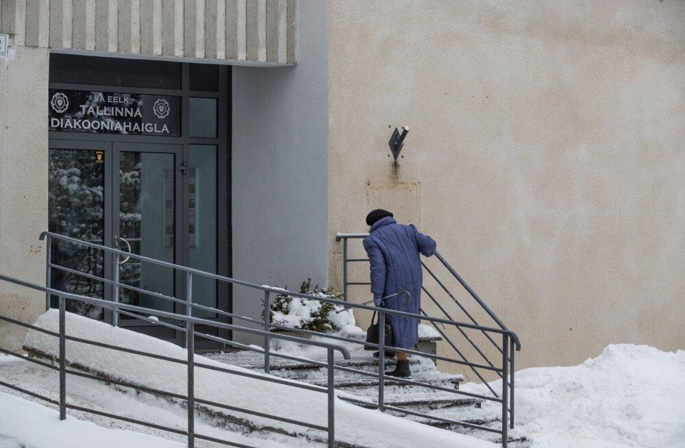 Eesti evangeelsele luterlikule kirikule (EELK) kuuluva diakooniahaigla hospiitsi ähvardab sulgemine juhul, kui Keila haiglal õnnestub kohtusse jõudnud riigihanke vaidlusest võitjana väljuda. Keila haigla ei ole rahul, et nad ei võitnud haigekassa hankes p