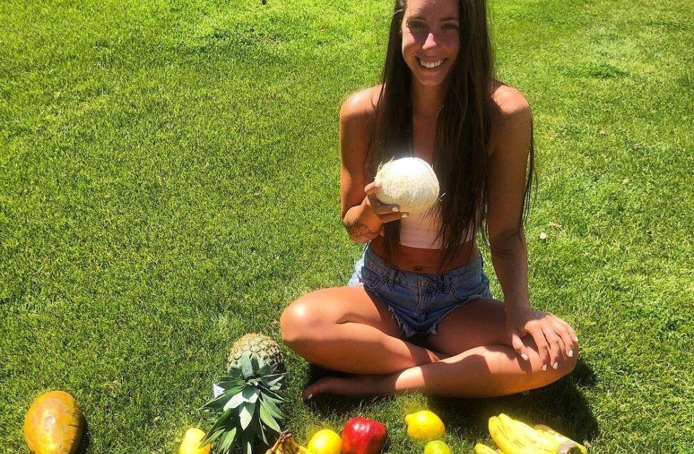 FOTOD | 25aastane toor-taimetoitlane otsustas toidust hoopis loobuda ning plaanib elada sõna otseses mõttes õhust ja armastusest