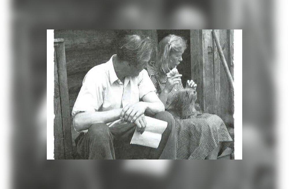 Veendumuste pärast vangilaagris – Jaan Kross ja Alma Vaarman Ida-Siberis Abanis 1952. aastal.