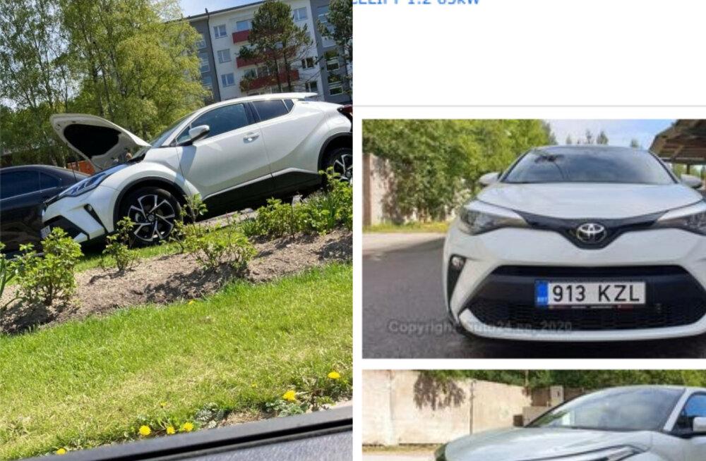 FOTOD   Majanduslikus mõttes hävinud uus sõiduauto pandi eriti krõbeda hinnaga uuesti müüki