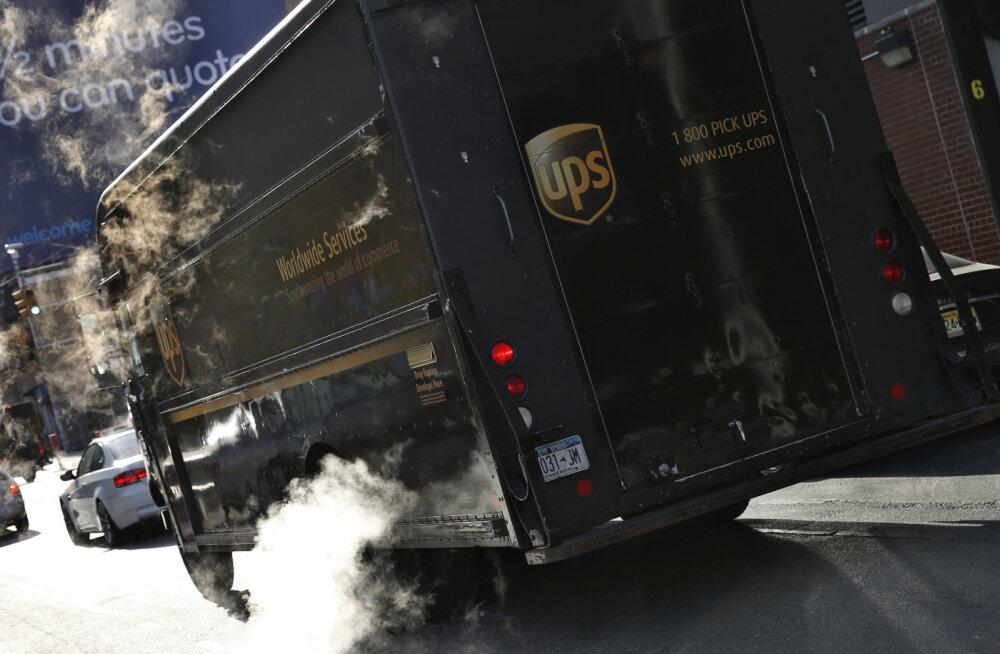 UPS-i autojuhtide säästustrateegia: väldi iga hinna eest vasakpöördeid